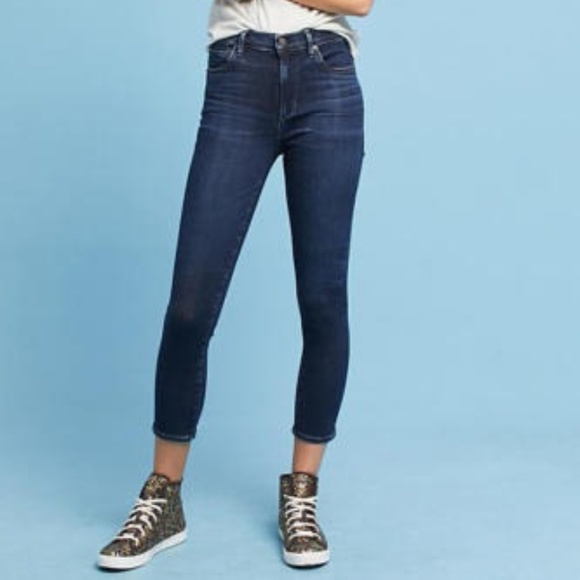 Citizens Of Humanity Rocket Crop High-rise Skinny Size 25 Women's Clothing